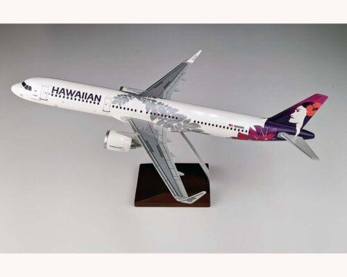 Gemini GDHAL012 Hawaiian Airlines A321neo Desk Top Resin Model 1/100 ES Airplane