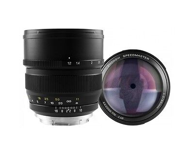 Mitakon 85mm f/1.2 SPEEDMASTER Creator Lens f Canon EF EF-S Anschluss Mount