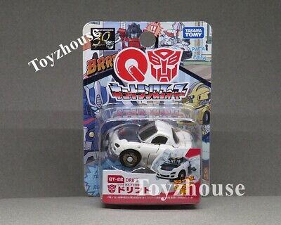 Takara Tomy Choro Q Transformers QT-22 Drift  Mazda RX-7 FD3S Model Car New