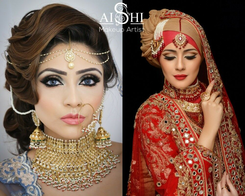 mac & alle'nora asian bridal make up artist, hair stylist london