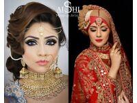 Mac & Alle'nora Asian Bridal Make up Artist, Hair stylist London, Henna artist Makeup & Hair Courses