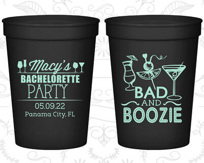 Bachelorette Party Cups Cup Favors (60155) Girls Night Out  - Girls Night Out Favors