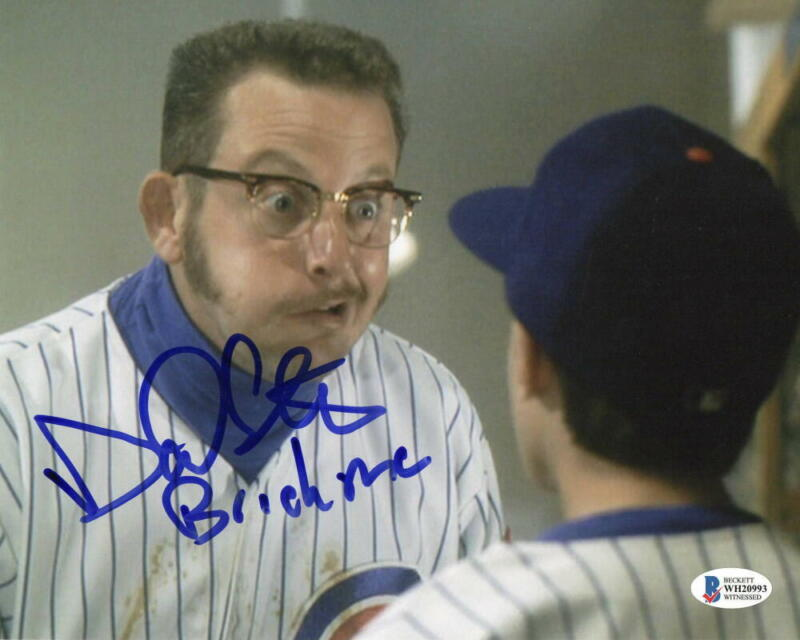 DANIEL STERN SIGNED ROOKIE OF THE YEAR SIGNED 8X10 PHOTO BRICKMA AUTO BECKETT D
