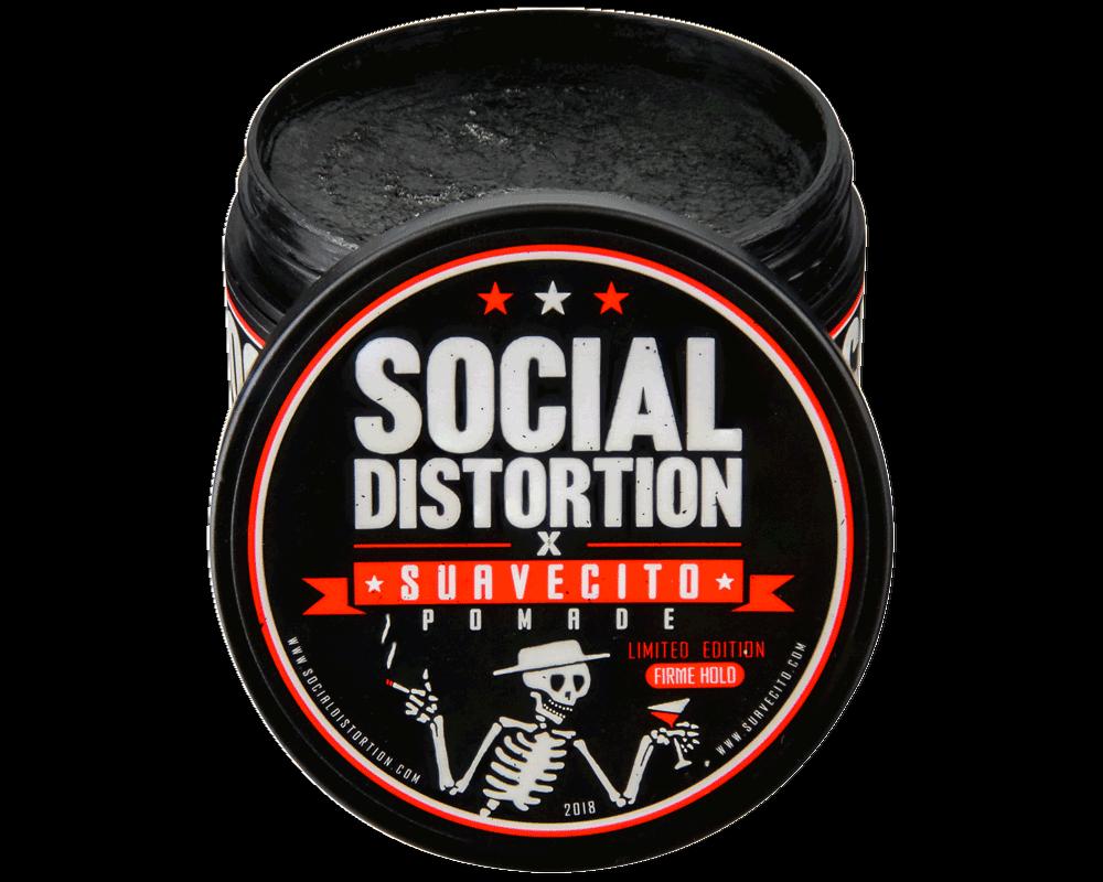 **DEADSTOCK** Suavecito x Social Distortion Firme  Hold Poma
