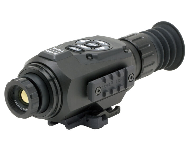 Atn Thor-hd 640 1-10x Thermal Smart Hd Rifle Scope Tiwsth641a