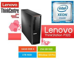 Lenovo P320 ThinkStationType/ Model: 30BJS1WV00 CPU  Intel Xeon E3-1245 v6 @3.70GHz@16GB