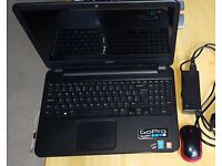 Dell Inspiron 3537 15.4 Laptop with wireless mouse