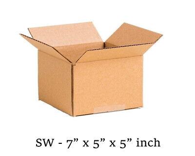 25 MOVING BOX Single Wall Cardboard 7x5x5