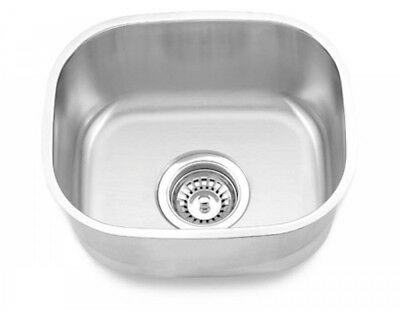 Undermount Small Bowl Bar Kitchen Prep Sink Stainless Steel (12 Undermount Sink)