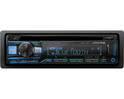 ALPINE CDE-172BT 6-Channel SiriusXM CD Receiver With 3-Band