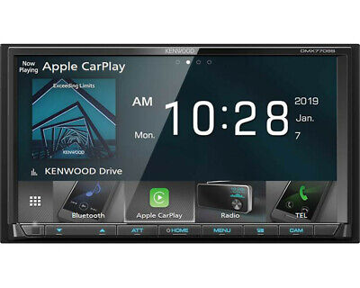 """KENWOOD DMX7706S 6.8"""" Double-Din Digital Multimedia Receiver - Doesn't Play CD's"""