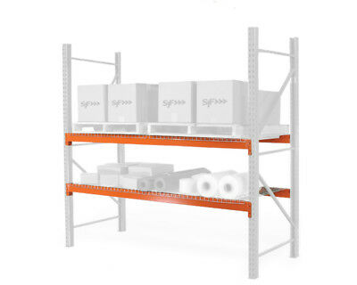 Pallet Racks - Teardrop Beams - 144l X 5h 3737 Lb. Capacity