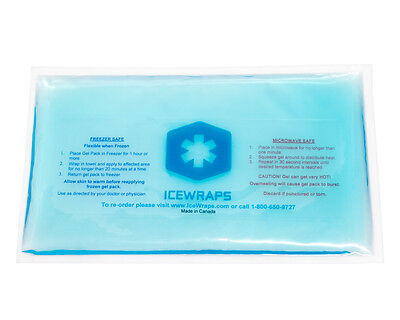 6x10 Gel Pack Reusable / Hot Pack Microwavable - Soft Ice Compress - (Microwavable Hot Pack)