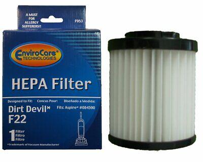 Dirt Devil Aspire 084590 Upright Vacuum Cleaner Style F22 Hepa Filter ()