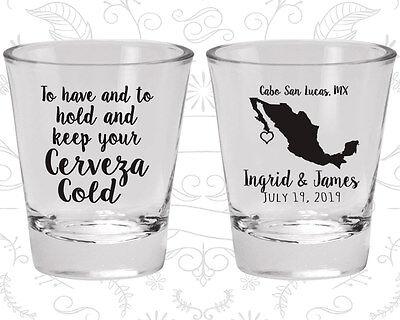 Personalized Shot Glasses Wedding (Wedding Shot Glasses Personalized Shot Glass (240) Mexican Wedding)