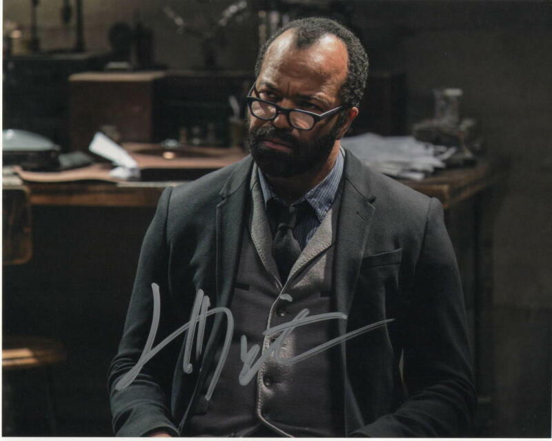 JEFFREY WRIGHT SIGNED AUTOGRAPH 8X10 PHOTO - CASINO ROYALE, WESTWORLD
