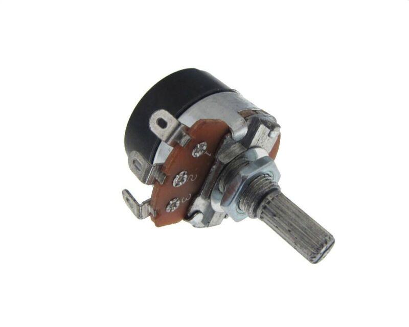 50K Potentiometer Pot Knurled  w/ Switch