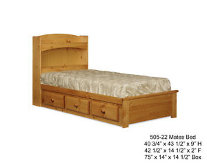 Solid Wood Mates Bed London Ontario image 1