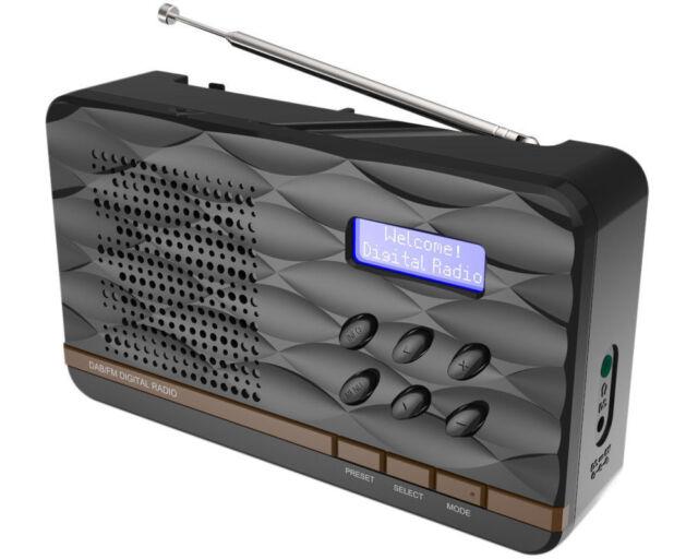 ° SOUNDMASTER DAB 500 SB Schwarz DAB+ UKW Kopfhöreranschluss °