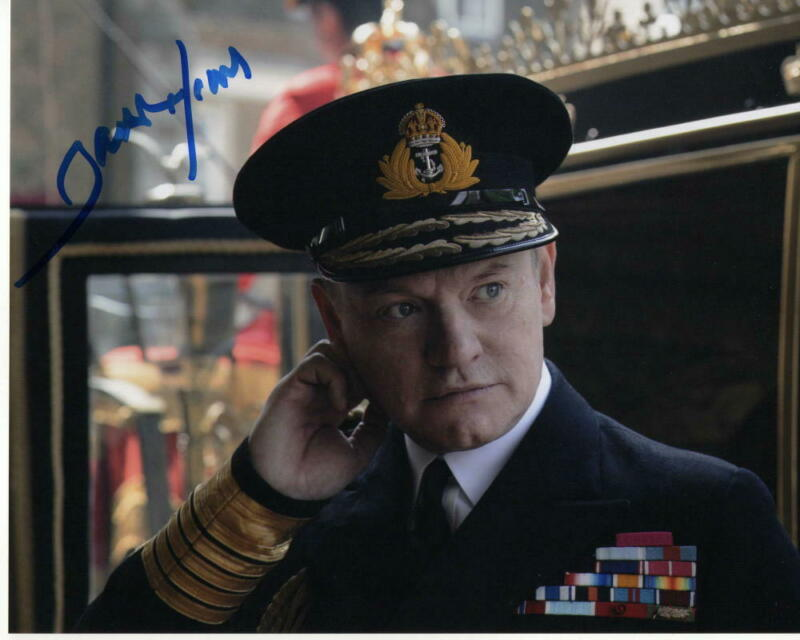 JARED HARRIS - SIGNED AUTOGRAPHED 8x10 PHOTO - THE CROWN KING GEORGE VI, MAD MEN