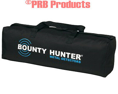 Bounty Hunter Metal Detectors Universal Nylon Carry Bag with White Blue Logo