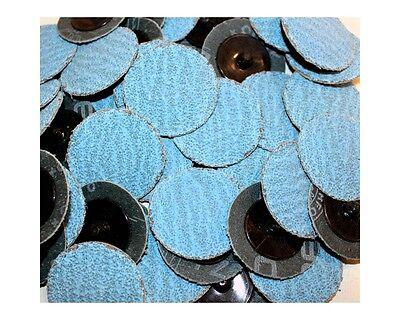 Roloc Grinding Sanding Disc 2 36 Grit Zirconia Za Blue Industrial 50pc 714q50
