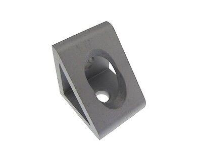 2 Hole Gusseted Inside Corner Bracket For T-slot Aluminum Extrusion 3030