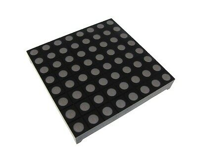 8x8 Matrix Led Display Round Dot - Rgb Color