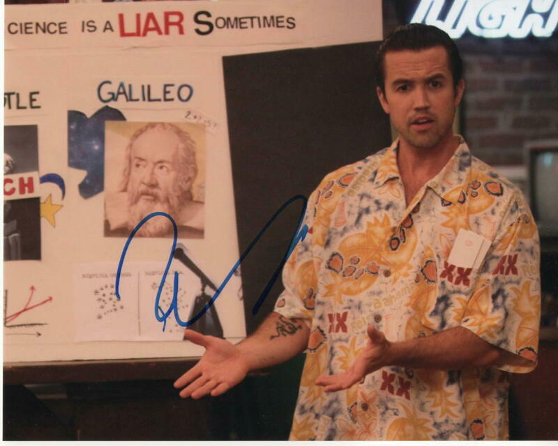 ROB MCELHENNEY SIGNED AUTOGRAPH 8X10 PHOTO - IT'S ALWAYS SUNNY IN PHILADELPHIA A