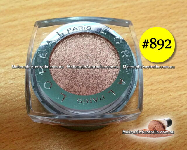 892 Amber Rush, LOreal Infallible Eyeshadow ❤ WOW ❤