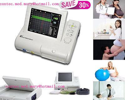 Fetal Monitorfetal Heart Rate Maternal Uterine Contraction Alarmrecorderhot
