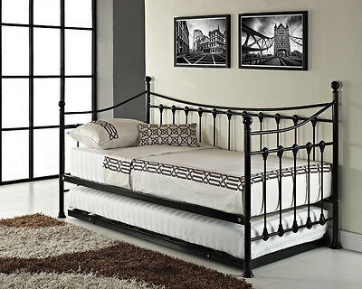 versailles french day bed and trundle black white metal 10870 | kgrhqn ocfhlll5odqbr 74hbo9 60 1 jpg set id 880000500f