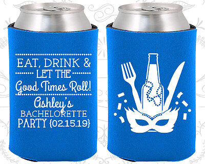 Bachelorette Party Koozies Favors Ideas (60057) Mardi Gras, NOLA](Mardi Gras Ideas)