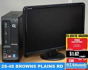 Compaq Desktop PC with Monitor Browns Plains Logan Area Preview