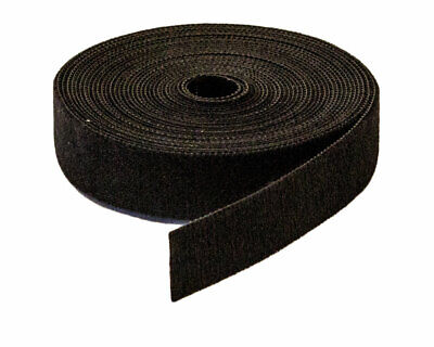 34 Inch Roll Hook And Loop Reusable Cable Ties Wraps Straps 5m 15ft