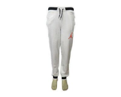 e5ad382b6619 547696-100 Air Jordan Men s Jordan Varsity Sweatpants (White Black) Size XS