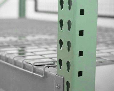Teardrop Pallet Rack Upright - 96h X 36w - 30000 Lb. Capacity