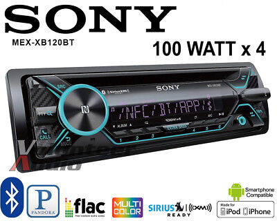 Sony MEX-XB120BT Single Din Car Stereo Radio Bluetooth CD Player 100W X 4
