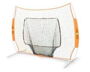 Bownet Portable Big Mouth Soft Toss Baseball Net 2 Free Titanium Necklaces $60