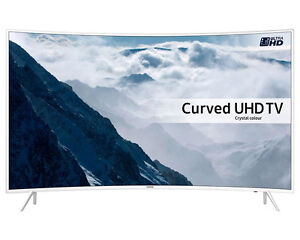 Samsung UE43KU6510 43 inch 4K UHD Curved Smart TV in White
