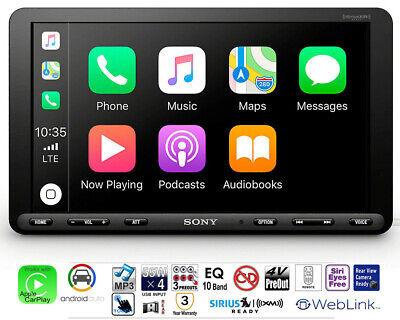 """Sony XAV-AX8000 8.95"""" Touchscreen Media Receiver Apple CarPlay Android Auto USB"""