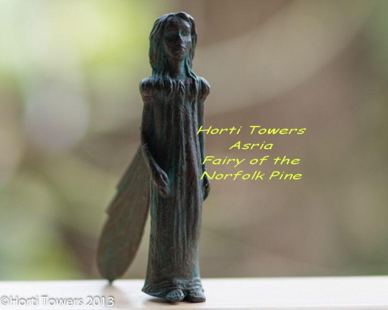 "ASRIA ""The Iron Fairies"" (New Bag Packaging) - (Fairy of The Nasturtium)"