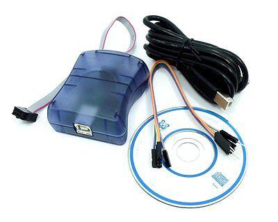 Avrisp Mkii Upgradable Programmer Debugger Avrisp Mk2 Usb Isp For Avr Ic Arduino