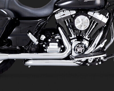 Vance & Hines Dresser Duals Headers for 2009-16 Harley Touring - Chrome - 16752