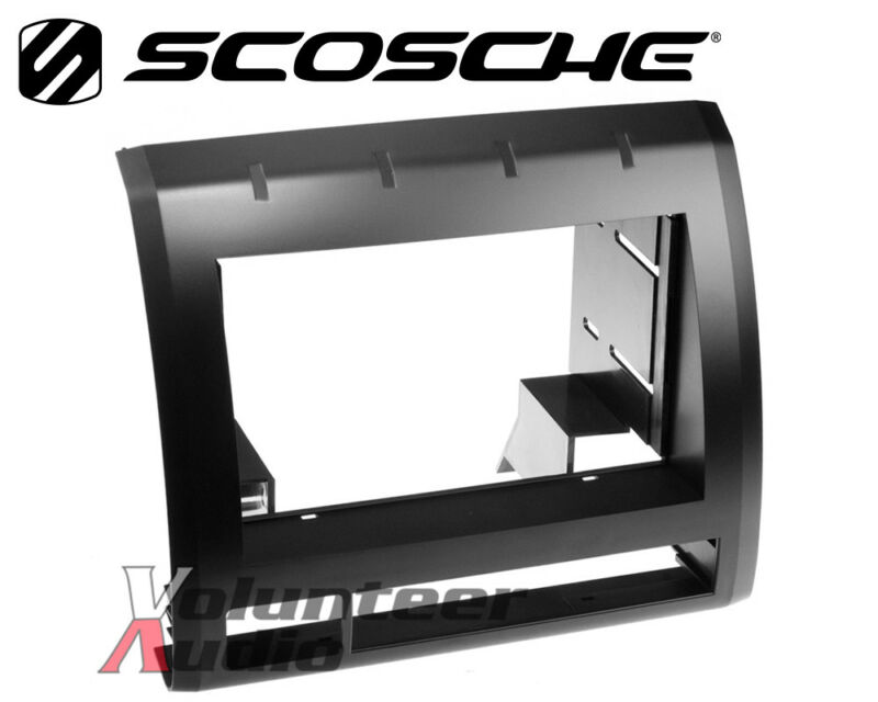 Scosche TA2053BKB Double Din Stereo Radio Install Dash Kit 05-11 Toyota Tacoma