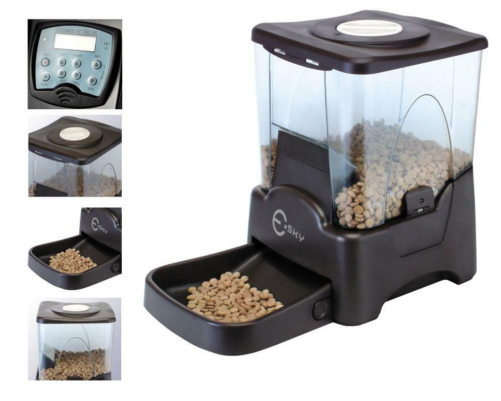 Programmable Automatic Pet Dog Cat Feeder