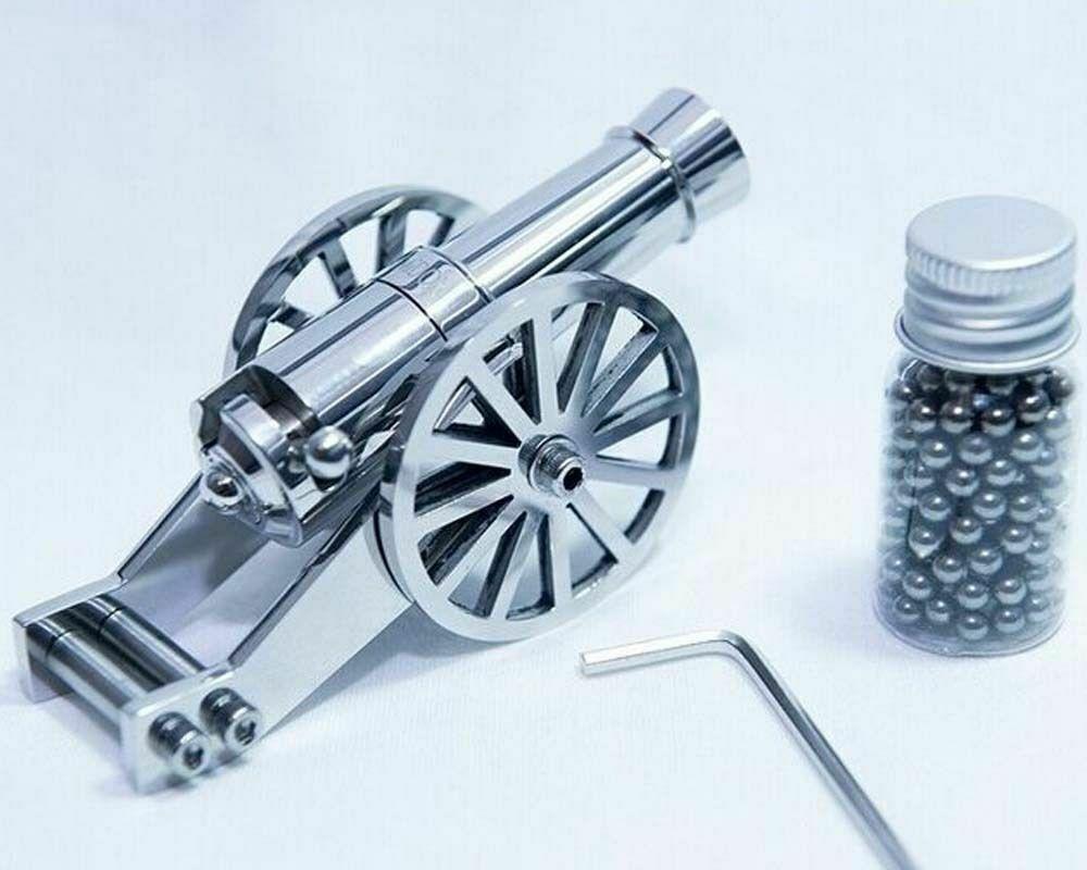 mini napoleon metal naval artillery stainless model