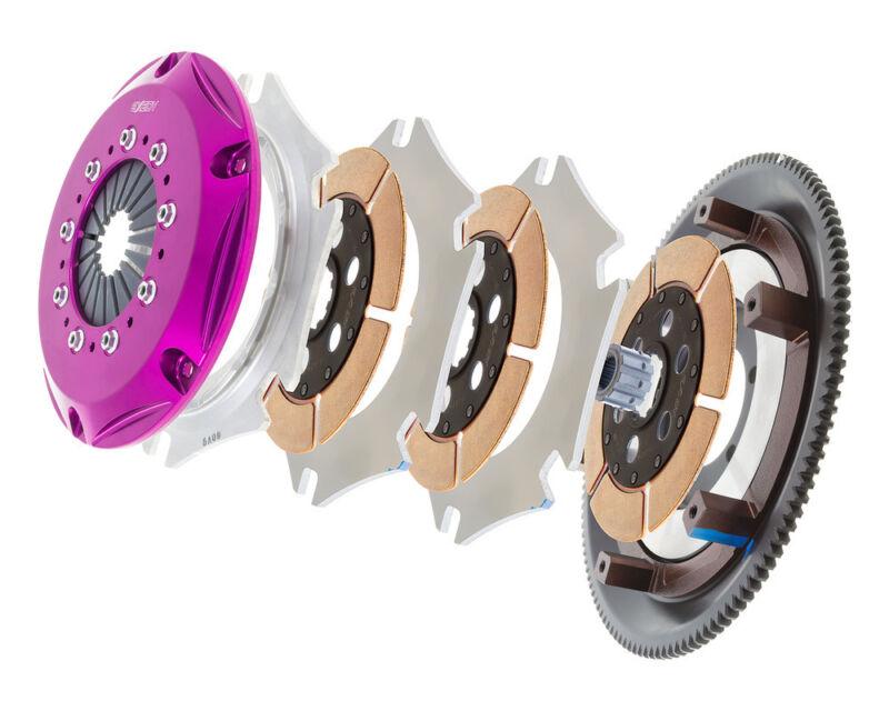 Clutch And Flywheel Kit Exedy Zm013sr Fits 86-91 Mazda Rx-7 1.3l-r2