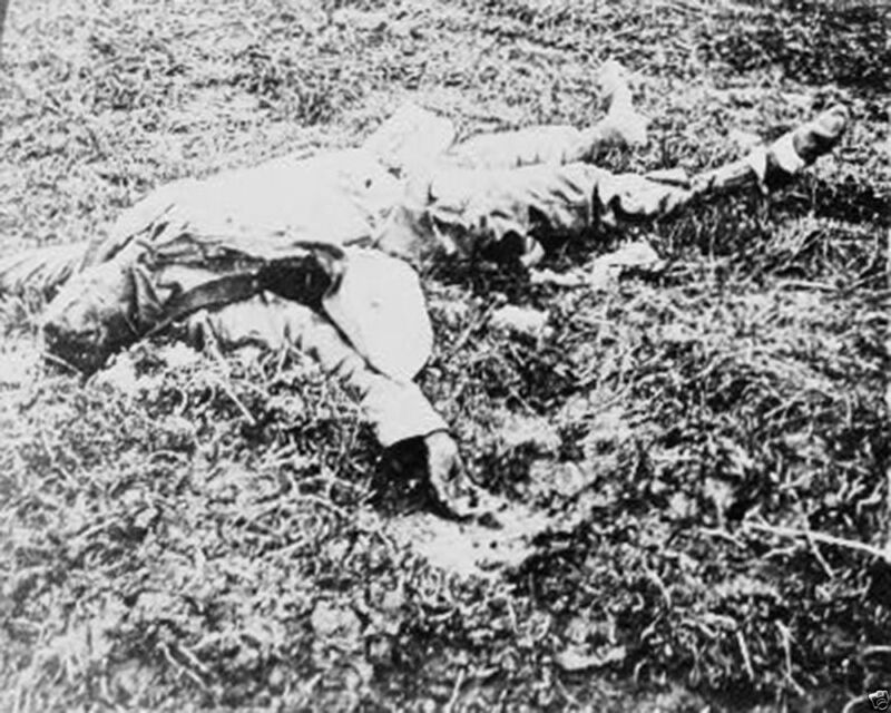 Dead German Soldier Battle of Belleau Wood 1918 New World War I WWI 8x10 Photo