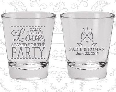 Wedding Favor Shot Glasses Shot Glass Favors (404) Love Wedding Favors